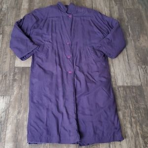 Vintage Eight Degrees South Long Insulated Coat